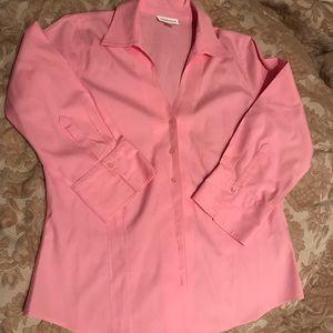 Coldwater Creek No Iron medium shirt